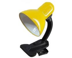 Лампа настольная на прещепке General GTL-006-60-220 желтый