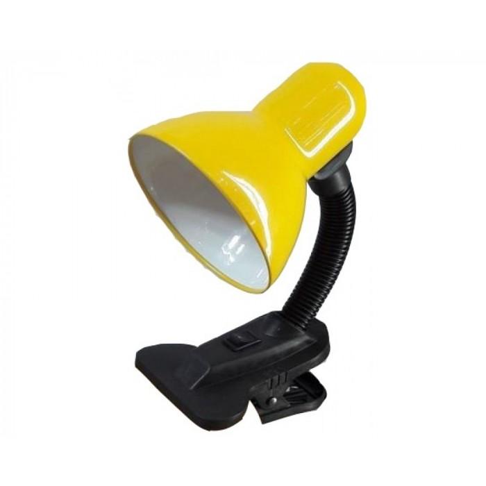 Лампа настольная на прещепке General GTL-026-60-220 желтый