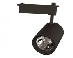 Светильник светодиодный трековый 10 Вт Нейтральный свет 1-фазный General GTR-10-1-IP20-B черный