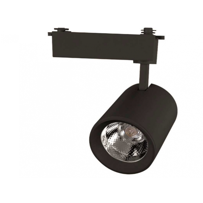 Светильник светодиодный трековый 30 Вт Нейтральный свет 1-фазный General GTR-30-1-IP20-B черный