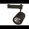 Светильник светодиодный трековый 20 Вт Нейтральный свет 1-фазный General GTR-20-1-IP20-B черный
