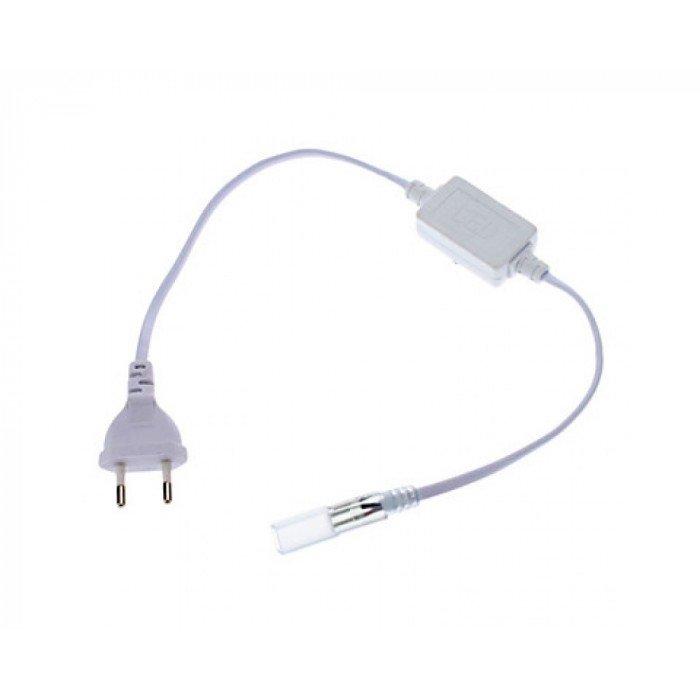 Шнур питания с вилкой для светодиодной ленты 220V General G-3528-P-IP20 (для ленты 60 диодов)