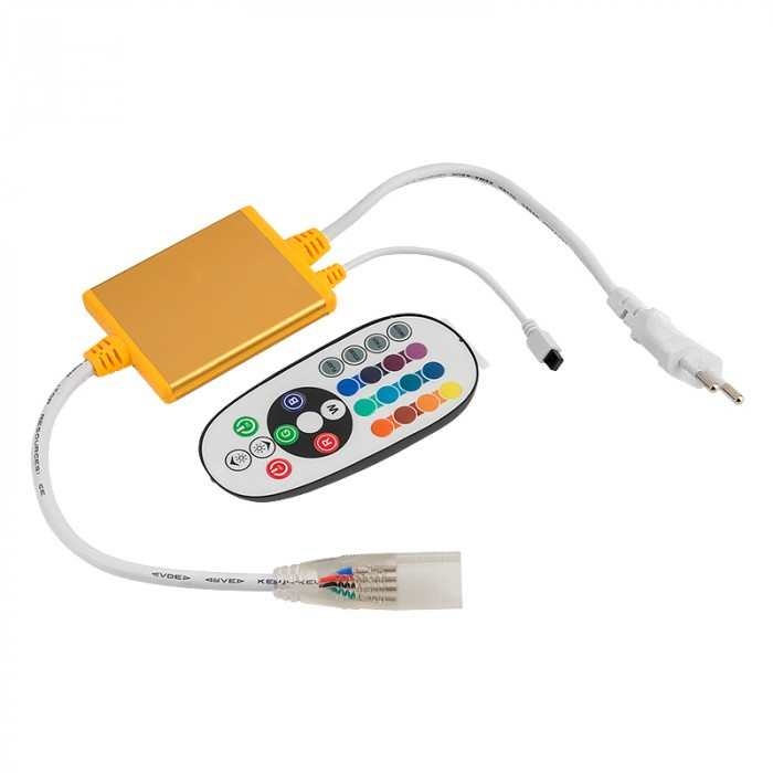 Контроллер для RGB ленты 220v General 1200W GDC-RGB-1200-IP67-220