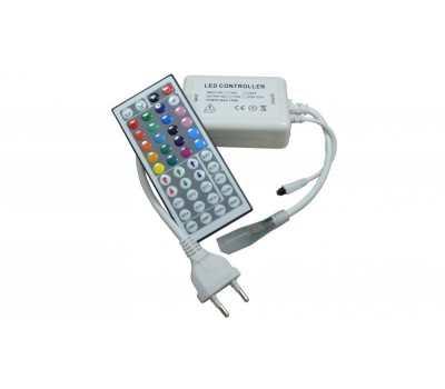 Контроллер для RGB ленты 220v General 700W GDC-RGB-700-IP20-220 (IR)