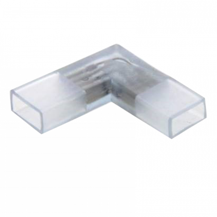 Коннектор (L-образный) для неона 8х16 Мм General G-2835-A-IP20-NL уп. по 10шт