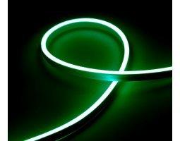 Гибкий Неон 12V 9,6 Вт/метр Зеленый 6х12 Мм General GLS-2835-120-9.6-220-NL-IP67-G катушка 50м