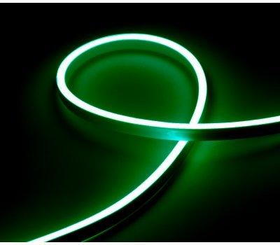 Гибкий Неон 12V 9,6 Вт/метр Зеленый 6х12 Мм General GLS-2835-120-9.6-220-NL-IP67-G блистер 5м
