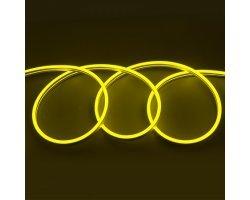 Гибкий Неон 12V 9,6 Вт/метр Желтый 6х12 Мм General GLS-2835-120-9.6-220-NL-IP67-Y блистер 5м