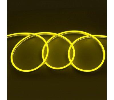 Гибкий Неон 12V 9,6 Вт/метр Желтый 6х12 Мм General GLS-2835-120-9.6-220-NL-IP67-Y катушка 50м