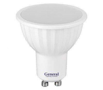 Лампа GLDEN-MR16-7-230-GU10-6500
