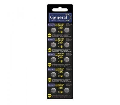 Батарейка GBAT-LR41 (AG3) таблетка кнопка щелочная