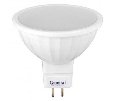 Лампа GLDEN-MR16-15-230-GU5.3-4500