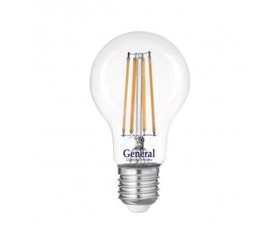 Лампа GLDEN-A60S-15-230-E27-6500