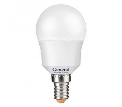 Лампа GLDEN-G45F-12-230-E14-6500