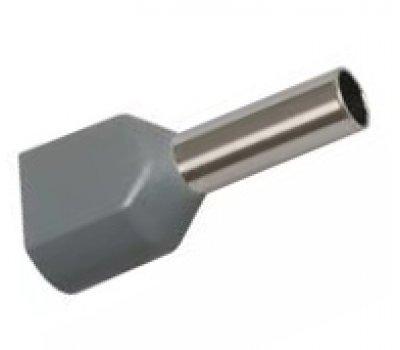 Наконечник-гильза GNGI-E2-2x4-12 серый