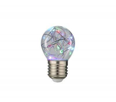 Лампа GLDEN-G45SW-1-230-E27-RGB