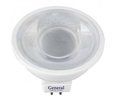 Лампа GLDEN-MR16-7-230-GU5.3-4500 диффузор