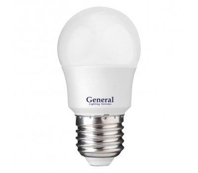 Лампа GLDEN-G45F-12-230-E27-6500