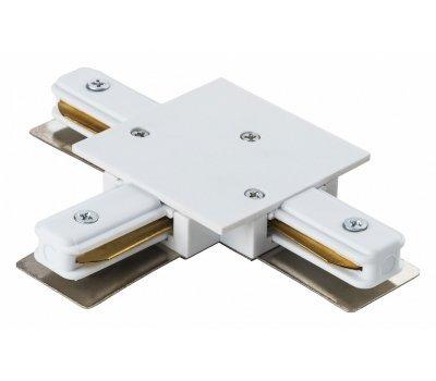 Коннектор G-1-TTT-I-IP20-W для шинопровода встраиваемого T-образный белый
