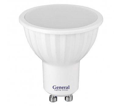 Лампа GLDEN-MR16-10-230-GU10-6500