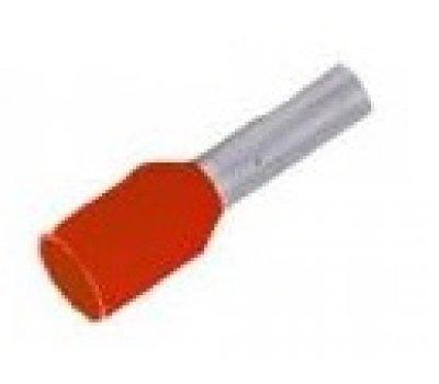 Наконечник-гильза GNGI-E-1,5-8 темно-красный