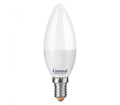 Лампа GLDEN-CF-12-230-E14-6500