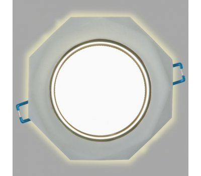 Светильник GCL-GX53-H38-BL-7 с подсветкой