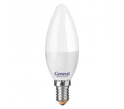 Лампа GLDEN-CF-15-230-E14-6500