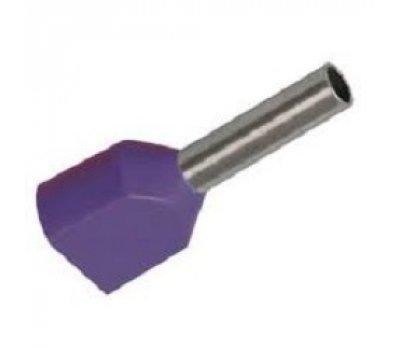 Наконечник-гильза GNGI-E2-2x2,5-10 фиолетовый