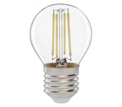 Лампа GLDEN-G45S-10-230-E27-2700