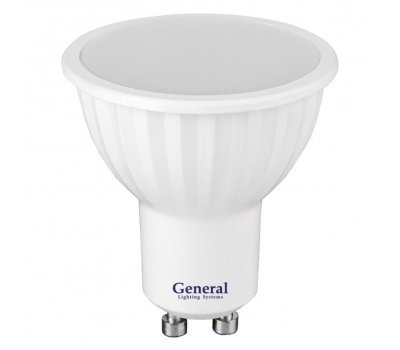Лампа GLDEN-MR16-10-230-GU10-4500